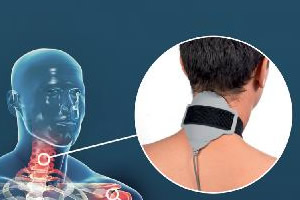 Orthomag PEMF treatment on neck