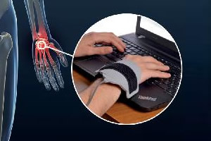Orthomag PEMF treatment on wrist